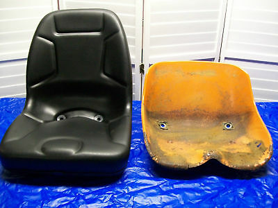 """New High Back Seat For Older Kubota Compact Tractors With """"u"""" Style Mounting #lg"""