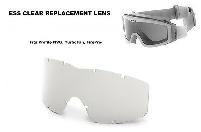 New ESS Profile NVG Goggle, TurboFan, FirePro - Clear Replacement Lens 740-0113