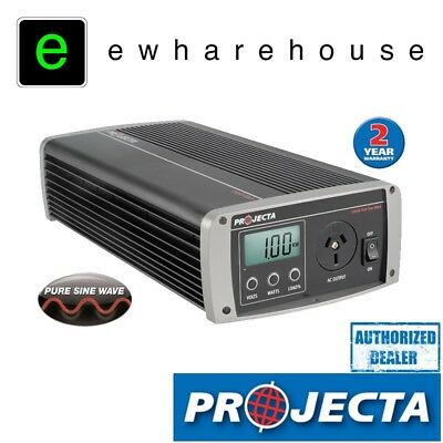 Projecta Power Inverter Ip1000 Pure Sine Wave 1000W 12 240 Volt Car Dc To Ac