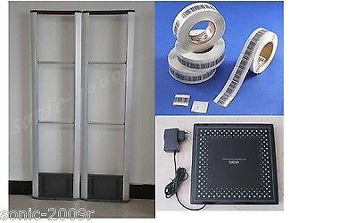 RF Detector Store Security System Checkpoint + Soft Label +Deactivator