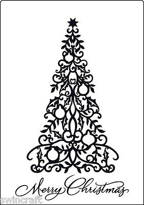 Crafts Too A4 Embossing Folder - CTA4013 REDUCED CLEARANCE