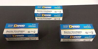 Barrier Envelope for Phosphor Plate Size 2, 3x of the 300/pk
