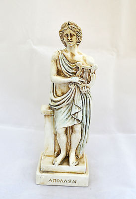 Apollo Ancient Greek God of light, sun, music, poetry sculpture statue artifact