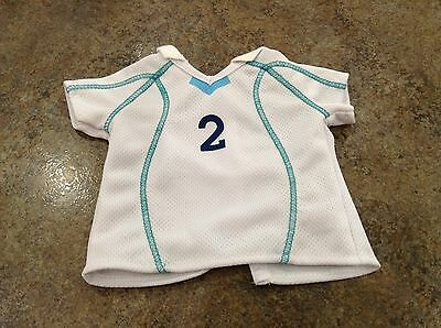American Girl Doll Retired 2-IN-1 Soccer Outfit Jersey ONLY