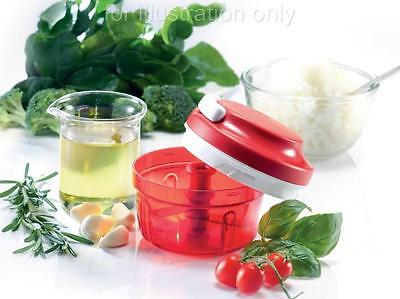 NEW TUPPERWARE 1 TURBO CHOPPER FOOD BLENDER MINCER CUTTER 300ml WITH GIFT BOX