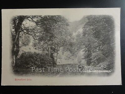 Derbyshire: Bereford Dale, Old Postcard