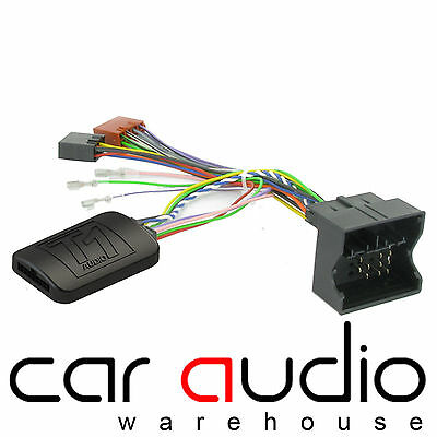 T1-FO3-JVC Ford Mondeo S-Max Focus Steering Wheel & Phone Interface Adaptor