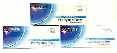 Bulk Mark3 Prophy Paste Non-Spaltter Coarse Assorted Total of 600Cups