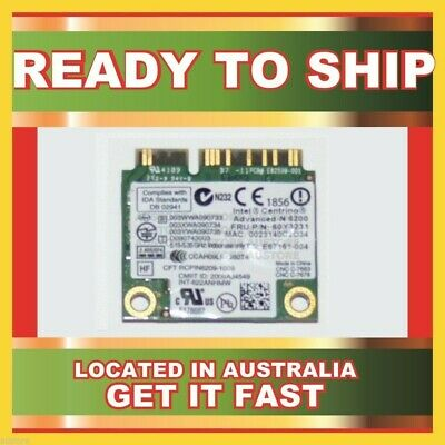 Genuine 60Y3231 Intel 300 Mbps 802.11A/G/N Pci Network Adapter For 2540P