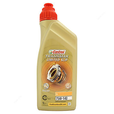 Castrol Syntrax Limited Slip 75W-140 Axle Fluid for LSD 75W140 1 Litre 1L