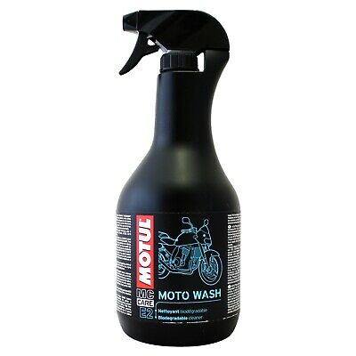 Motul E2 MOTOWASH Biodegradable Cleaner For Bikes 1 Litre 1L Trigger Bottle