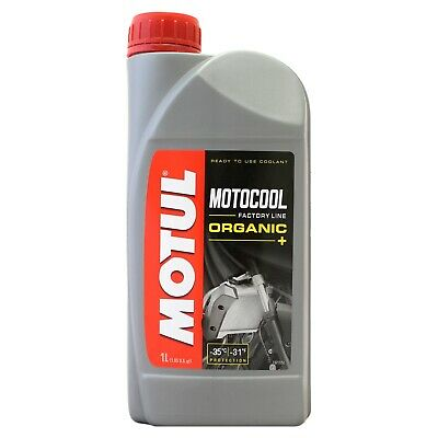 Motul Motocool Factory Line Ready To Use Motorcycle Cooling Liquid 1 Litre 1L