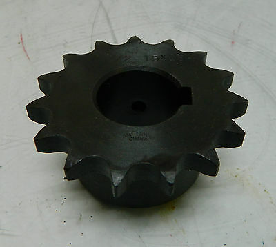 NEW Finished Bore Sprocket Gear, # 1/2-15H, Bore - 25,  WARRANTY