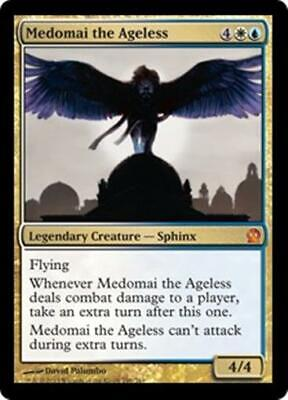 MEDOMAI THE AGELESS Theros MTG Gold Creature — Sphinx MYTHIC RARE