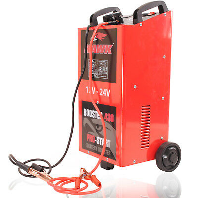 2000W 12V 24V 400a AMP CAR VAN 4X4 BATTERY CHARGER GARAGE JUMP START STARTER KIT