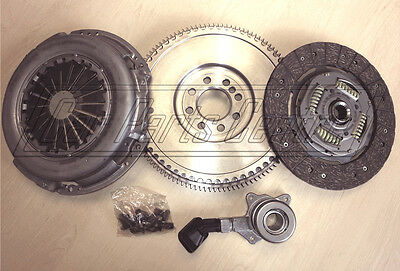 FOR MONDEO MK3 2.0TDCi DUAL TO SOLID MASS FLYWHEEL CLUTCH CONVERSION KIT 6 SPEED