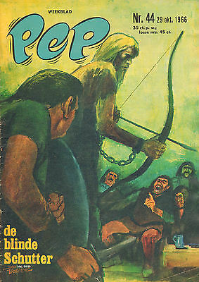 PEP 1966 nr. 44 - JAN WESSELING (COVER)TROGGS/CUBY + BLIZZARDS/RITA PAVONE