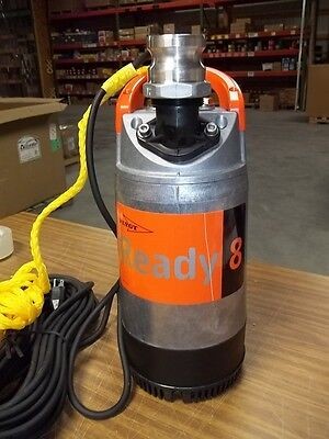 "2"" 115 volt submersible Flygt ready 8 pump"