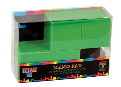 Official Tetris Memo Pad Office Tidy Gift Desktop Notepad Retro