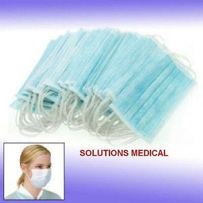 50 X First Aid Surgical Procedure Medical Mask
