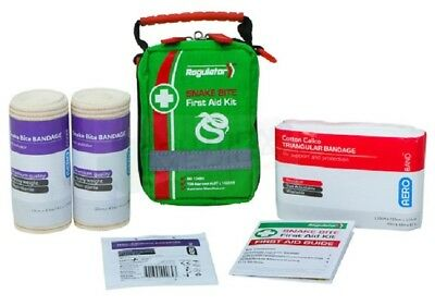 SNAKE BITE FIRST AID KIT - High quality compact kit with soft pack carry case