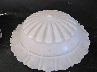 Antique Large Satin Ribbed Dome Shae 5976