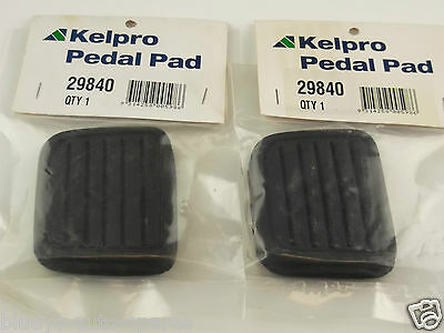 Holden Rodeo Brake & Clutch Pedal Pad Kit Suits Tf,r9 Models 4 & 6Cyl 1988-2004