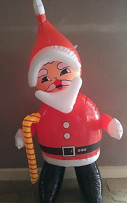 76cm Cartoon Santa Claus Inflatable Blow-up Toy/Christmas