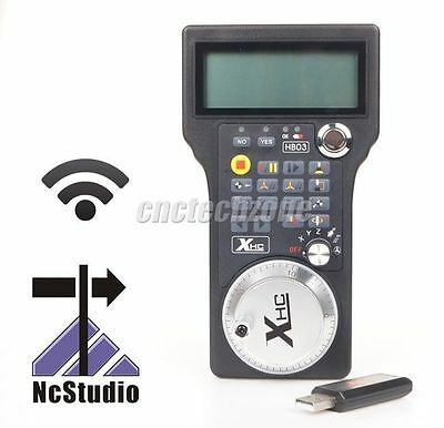 2016 Wireless USB CNC Electronic Handwheel MPG For NCstudio Control System