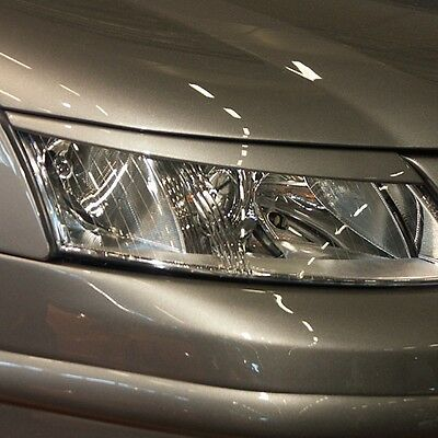 -= NEW = SAAB 93 9-3 2002+ Headlight light brows lids eyebrows eyelids = ABS =-