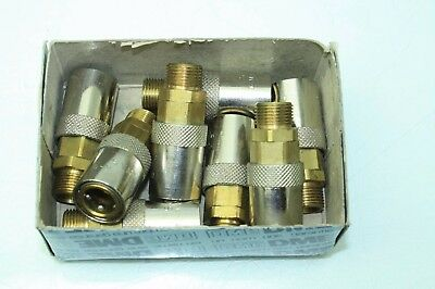 """8 New DME FSVK-111V Injection Molding / Jiffy Matic Connector 3/8"""" BSP"""