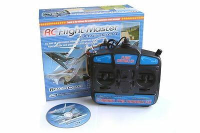 RC Flight Master Extreme 64 Flight Simulator with Mode 1 Transmitter