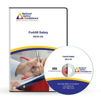 OSHA compliant Forklift Operator Safety DVD Training Kit For General Industry