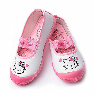 Genuine Hello Kitty Cute Pink Girls Slippers Shoes Kids Children US UK Size All