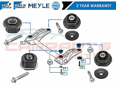 For Mercedes A Class A140 A160 A170 A190 Rear Subframe Axle Front Bushes Bushing