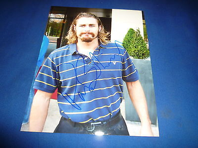 PAUL BURCHILL signed Autogramm 20x25 In Person WWE Raw