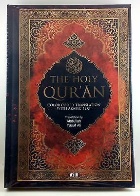 THE HOLY QURAN Color Coded Translation w/Arabic Text Translated by Abdullah Y.A