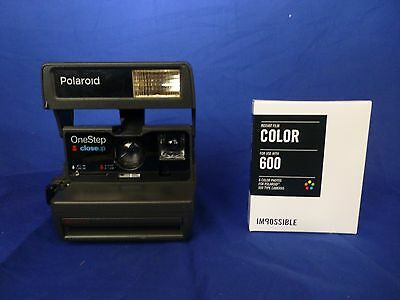 Film Tested Vintage Working Polaroid With New Film OneStep Close Up 600 Camera