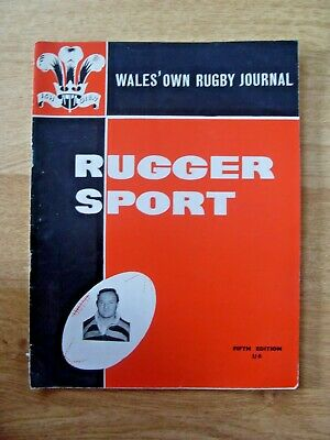 Rugger Sport 5th Edition 1961 Rugby Magazine