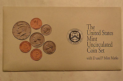 1992 Brilliant Uncirculated US Mint Set P & D in OGP  Excellent Condition