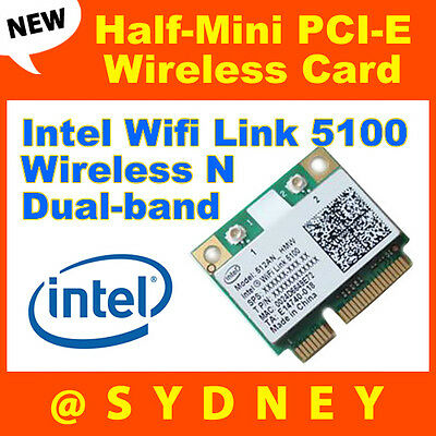 NEW Intel 512ANHU Wireless N Dual-band Half-Mini PCI-E WIFI WLAN Card 43Y6517
