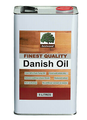Danish Oil, Bestwood, 25 LITRES (5X5 Litre cans), express delivery