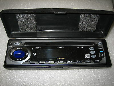 NEW JENSEN CD330X FACEPLATE WITH HARD CASE