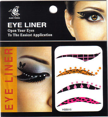 Eye liner tattoo version années 60 bouches - yeux - spectaculaires -  velours