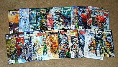 Aquaman #0-20 Complete Set 2011 All 1st Prints DC The New 52 VF/NM
