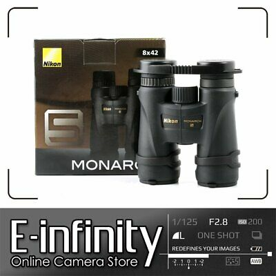 NEW Nikon Monarch (5) 8 x 42 ATB WP DCF Binoculars