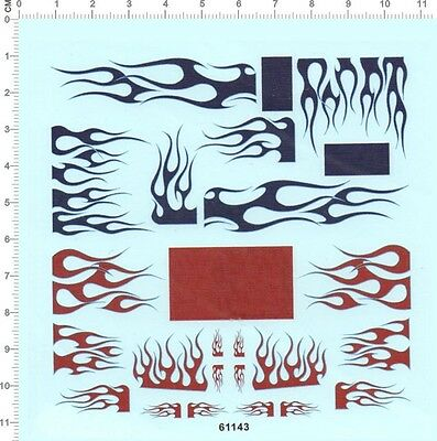 Decals Transformers FLAME for different scales (61143)