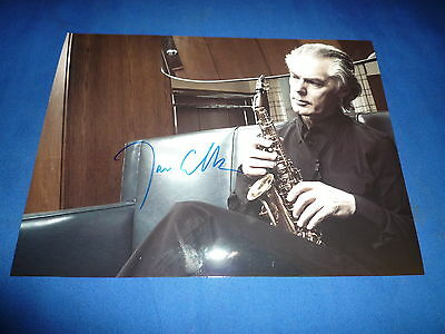 JAN GARBAREK  signed Autogramm 20x28 cm In Person