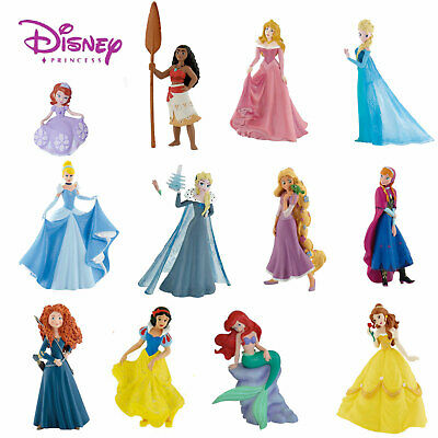 BULLYLAND DISNEY PRINCESS FIGURES Choice of 24 figures great for Cake Decorating
