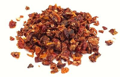 Sun-Dried Tomatoes, Small Chopped Pieces, 6Mm Square, Various Sizes